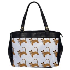 Cute Cats Seamless Wallpaper Background Pattern Office Handbags by Simbadda