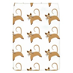 Cute Cats Seamless Wallpaper Background Pattern Flap Covers (s)  by Simbadda
