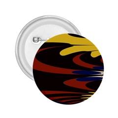 Peacock Abstract Fractal 2 25  Buttons by Simbadda