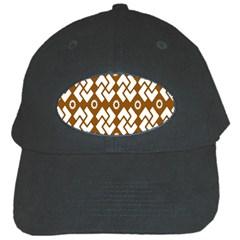 Art Abstract Background Pattern Black Cap by Simbadda
