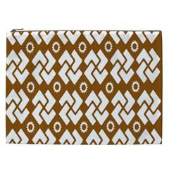 Art Abstract Background Pattern Cosmetic Bag (xxl)  by Simbadda