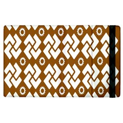 Art Abstract Background Pattern Apple Ipad 3/4 Flip Case by Simbadda