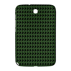 Clovers On Black Samsung Galaxy Note 8 0 N5100 Hardshell Case  by PhotoNOLA