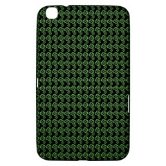Clovers On Black Samsung Galaxy Tab 3 (8 ) T3100 Hardshell Case  by PhotoNOLA