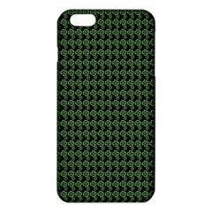 Clovers On Black Iphone 6 Plus/6s Plus Tpu Case by PhotoNOLA