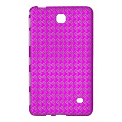 Clovers On Pink Samsung Galaxy Tab 4 (7 ) Hardshell Case  by PhotoNOLA