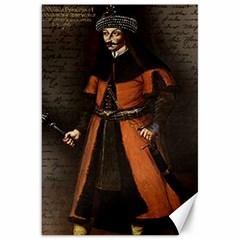 Count Vlad Dracula Canvas 20  X 30   by Valentinaart