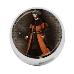 Count Vlad Dracula 4 Port Usb Hub (one Side) by Valentinaart