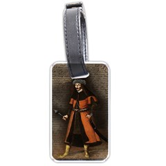 Count Vlad Dracula Luggage Tags (two Sides) by Valentinaart