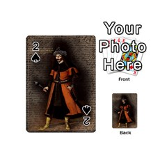 Count Vlad Dracula Playing Cards 54 (mini)  by Valentinaart