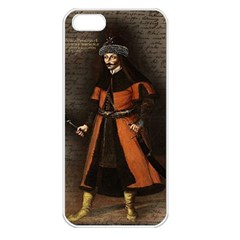 Count Vlad Dracula Apple Iphone 5 Seamless Case (white) by Valentinaart