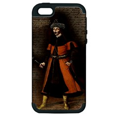Count Vlad Dracula Apple Iphone 5 Hardshell Case (pc+silicone) by Valentinaart