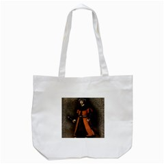 Count Vlad Dracula Tote Bag (white) by Valentinaart