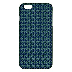 Clovers On Dark Blue Iphone 6 Plus/6s Plus Tpu Case by PhotoNOLA
