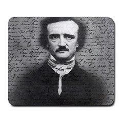 Edgar Allan Poe  Large Mousepads by Valentinaart