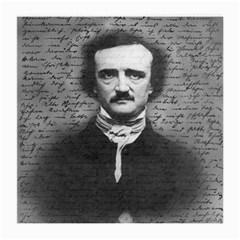 Edgar Allan Poe  Medium Glasses Cloth (2 Side) by Valentinaart