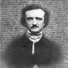 Edgar Allan Poe  Magic Photo Cubes by Valentinaart