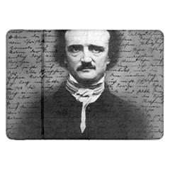 Edgar Allan Poe  Samsung Galaxy Tab 8 9  P7300 Flip Case by Valentinaart