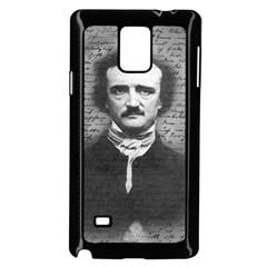 Edgar Allan Poe  Samsung Galaxy Note 4 Case (black) by Valentinaart