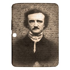 Edgar Allan Poe  Samsung Galaxy Tab 3 (10 1 ) P5200 Hardshell Case  by Valentinaart