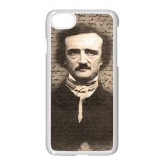 Edgar Allan Poe  Apple Iphone 7 Seamless Case (white) by Valentinaart