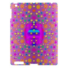 Colors And Wonderful Flowers On A Meadow Apple Ipad 3/4 Hardshell Case by pepitasart
