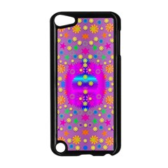 Colors And Wonderful Flowers On A Meadow Apple Ipod Touch 5 Case (black) by pepitasart