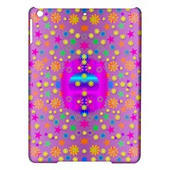 Colors And Wonderful Flowers On A Meadow Ipad Air Hardshell Cases by pepitasart