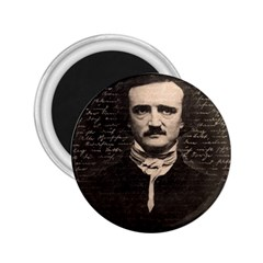 Edgar Allan Poe  2 25  Magnets by Valentinaart