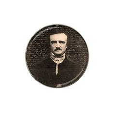 Edgar Allan Poe  Hat Clip Ball Marker (4 Pack) by Valentinaart