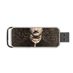 Edgar Allan Poe  Portable Usb Flash (two Sides) by Valentinaart