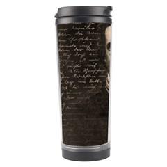 Edgar Allan Poe  Travel Tumbler by Valentinaart