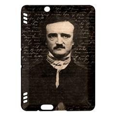 Edgar Allan Poe  Kindle Fire Hdx Hardshell Case by Valentinaart
