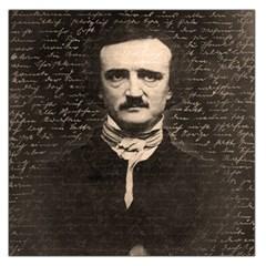 Edgar Allan Poe  Large Satin Scarf (square) by Valentinaart