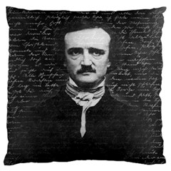 Edgar Allan Poe  Standard Flano Cushion Case (two Sides) by Valentinaart