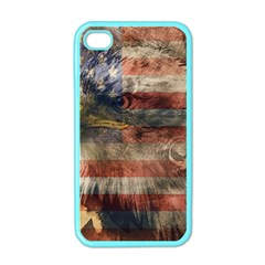 Vintage Eagle  Apple Iphone 4 Case (color) by Valentinaart