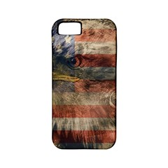 Vintage Eagle  Apple Iphone 5 Classic Hardshell Case (pc+silicone) by Valentinaart