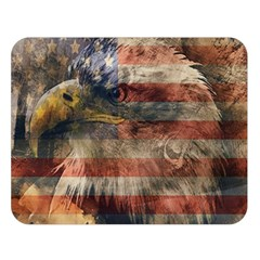 Vintage Eagle  Double Sided Flano Blanket (large)  by Valentinaart