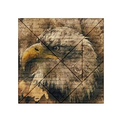 Vintage Eagle  Acrylic Tangram Puzzle (4  X 4 ) by Valentinaart