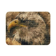 Vintage Eagle  Double Sided Flano Blanket (mini)  by Valentinaart