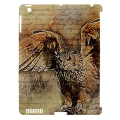 Vintage Owl Apple Ipad 3/4 Hardshell Case (compatible With Smart Cover) by Valentinaart