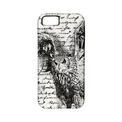 Vintage Owl Apple Iphone 5 Classic Hardshell Case (pc+silicone) by Valentinaart
