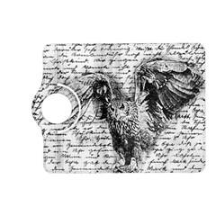 Vintage Owl Kindle Fire Hd (2013) Flip 360 Case by Valentinaart