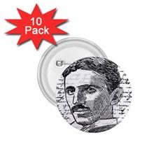 Nikola Tesla 1 75  Buttons (10 Pack) by Valentinaart