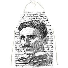 Nikola Tesla Full Print Aprons by Valentinaart
