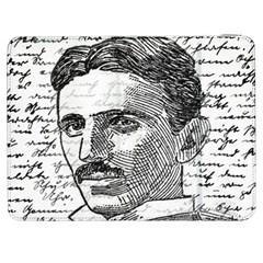Nikola Tesla Samsung Galaxy Tab 7  P1000 Flip Case by Valentinaart