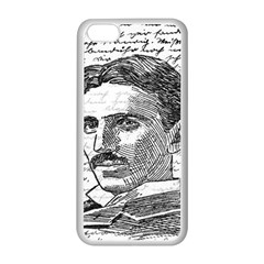 Nikola Tesla Apple Iphone 5c Seamless Case (white) by Valentinaart