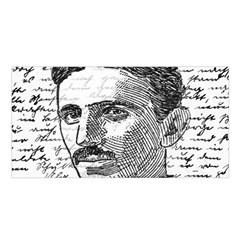 Nikola Tesla Satin Shawl by Valentinaart
