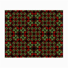 Asian Ornate Patchwork Pattern Small Glasses Cloth by dflcprints