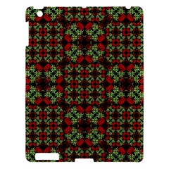 Asian Ornate Patchwork Pattern Apple Ipad 3/4 Hardshell Case by dflcprints